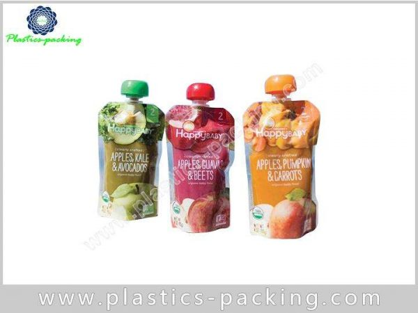 Plastic Custom Printed Spout Pouch 500ML Laundry 144