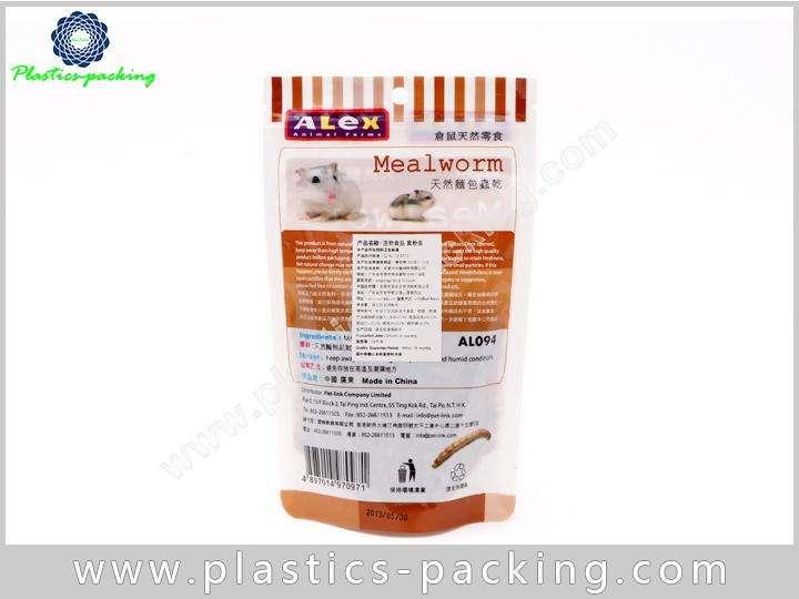 Plastic PE AL PET Resealable Small Pet Food Bags Food Safe Plastic Pet Food Bags 7