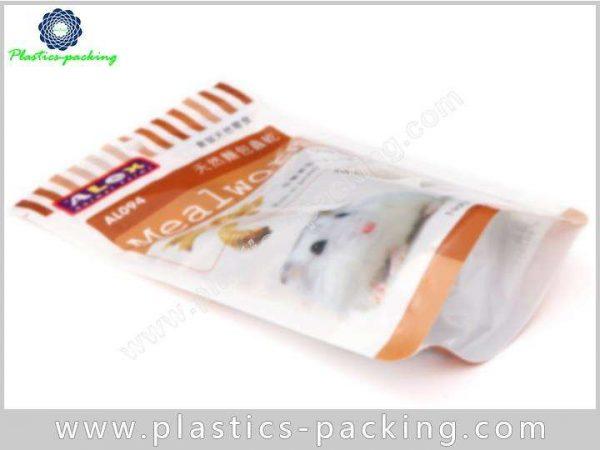 Plastic PE AL PET Resealable Small Pet Food Bags Food Safe Plastic Pet Food Bags 9