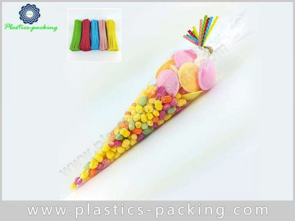 PopCorn OPP Cone Cellophane Bags Gravure Printing C 036