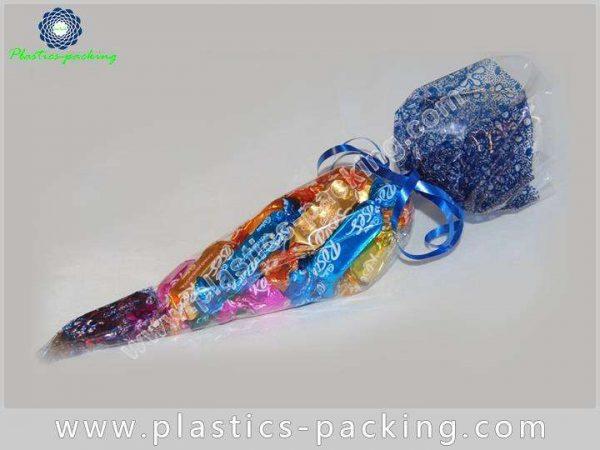 PopCorn OPP Cone Cellophane Bags Gravure Printing C 037