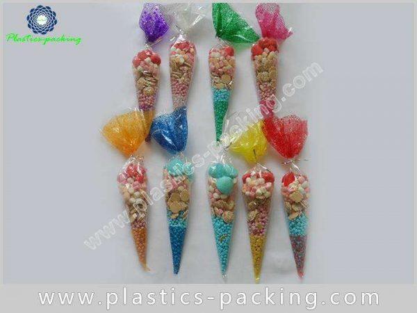 PopCorn OPP Cone Cellophane Bags Gravure Printing C 038