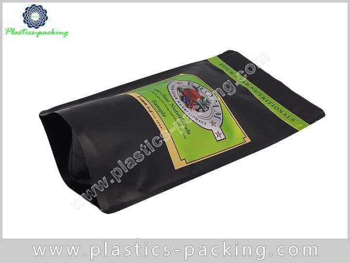 Printed Matt Black 200g Coffee Bags Manufacturers a 145