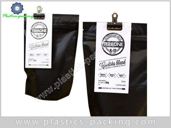 Printed Matt Black 200g Coffee Bags Manufacturers a 146