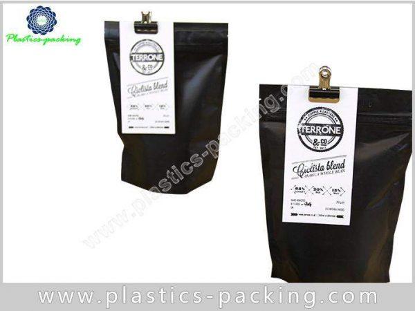 Printed Matt Black 200g Coffee Bags Manufacturers a 148