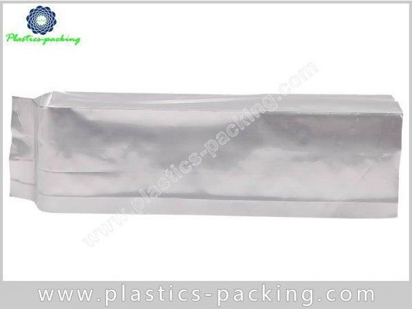Printed Silver Heat Seal Coffee Packaging Bags Side 113