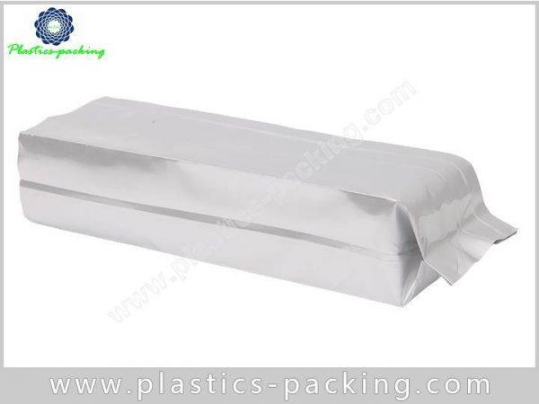 Printed Silver Heat Seal Coffee Packaging Bags Side 114