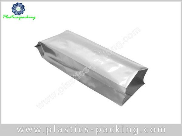 Printed Silver Heat Seal Coffee Packaging Bags Side 116
