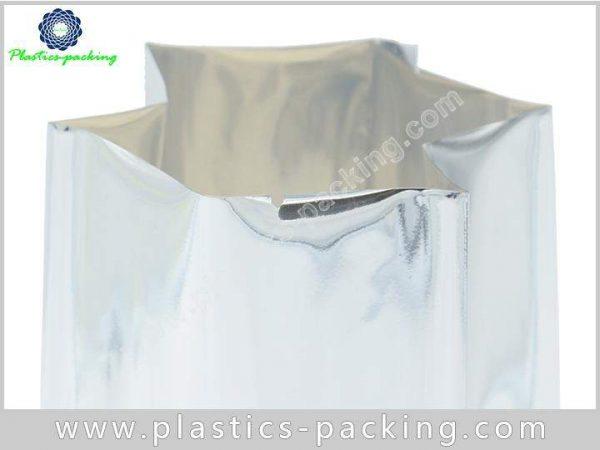 Printed Silver Heat Seal Coffee Packaging Bags Side 118