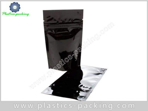 Red Matte Foil Stand Up Pouches Custom Window yythk 0936