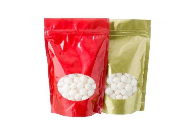 Resealable Plastic Ziplock Bags Foil Snack Food Pac 0959