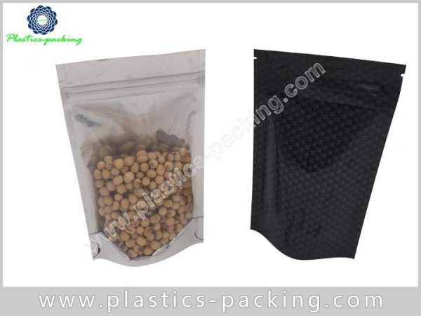 Resealable Stand up Pouch Snack Food Packaging Bag 0992
