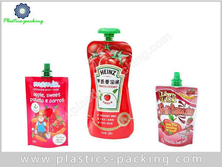 Sauce Packaging Spout Pouch Shampoo Spouted Stand up yythk 096
