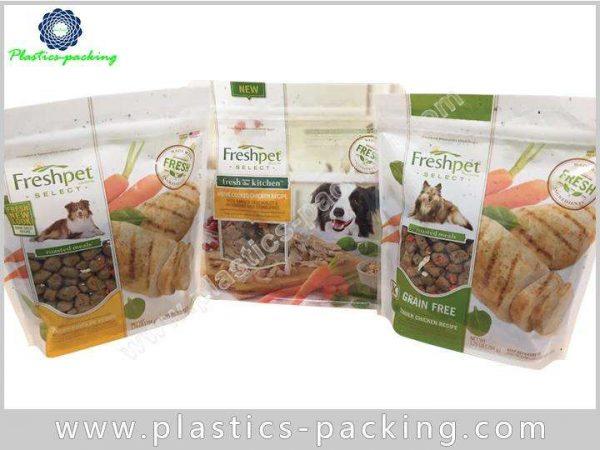 Self Stand Pet Food Bags Packaging Gravure Printing PET Food Pouch Ziplock Top 8