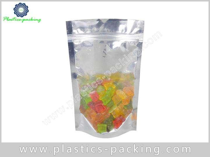 Self Standing Snack Food Plastic Ziplock Bags with 1027