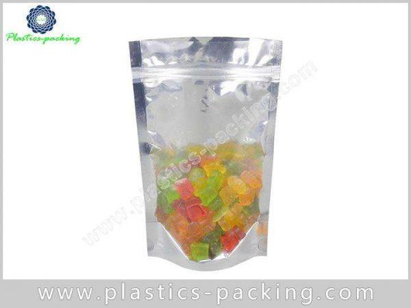 Self Standing Snack Food Plastic Ziplock Bags with 1033