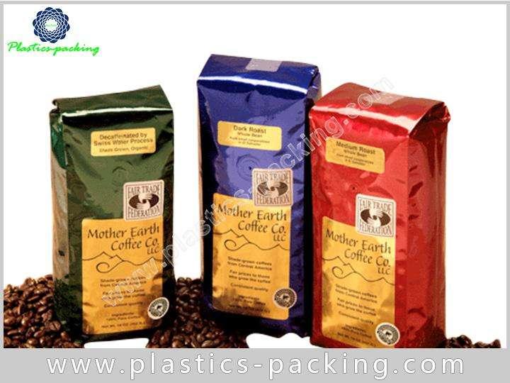 Self Standing TinTie Coffee Bags Heat Seal Coffee y 083