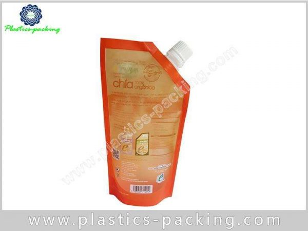 Shampoo Custom Printed Spout Pouch 350ML Stand Up y 090