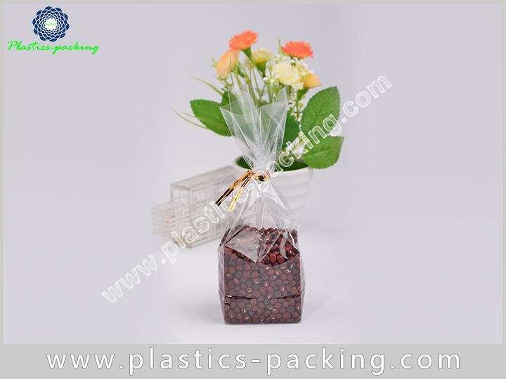 Side Gusset Block Bottom Bags Clear Plastic OPP yyt 084 1