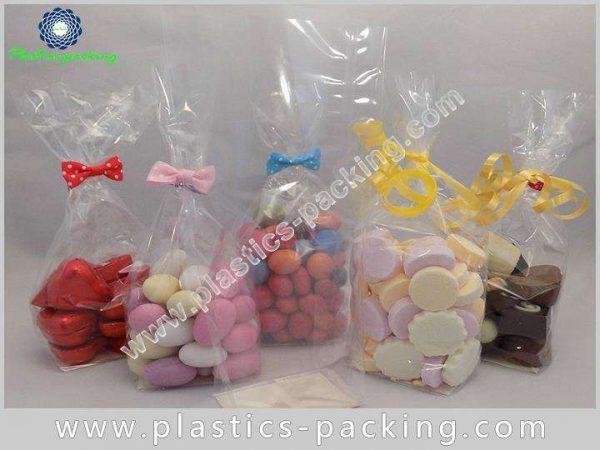 Side Gusset Block Bottom Bags Clear Plastic OPP yyt 089 1