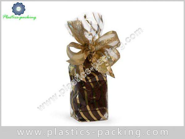 Side Gusset Block Bottom Bags Clear Plastic OPP yyt 090 1