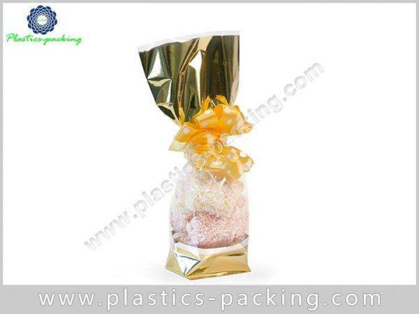 Side Gusset Block Bottom Bags Clear Plastic OPP yyt 091 1