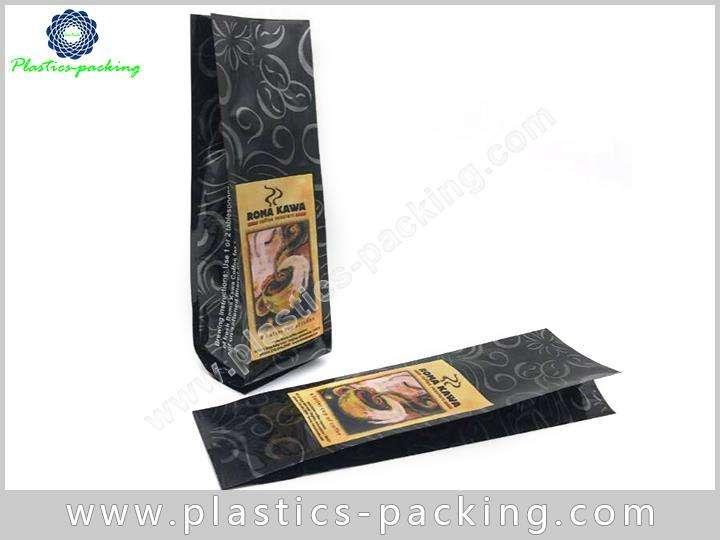 Side Gusset Coffee Bag 1 Lb In Matte Black y 062