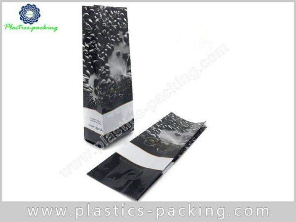 Side Gusset Coffee Bag 1 Lb In Matte Black y 063
