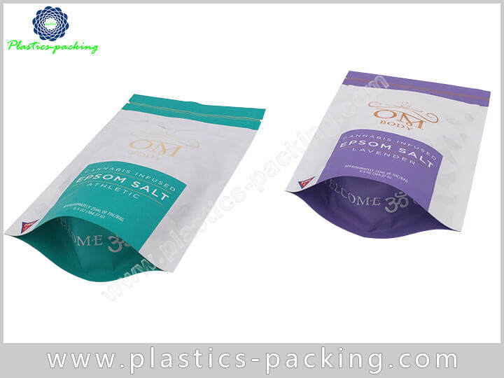 Silver Stand Up Bags Ziplock Pouches Manufacturers 192