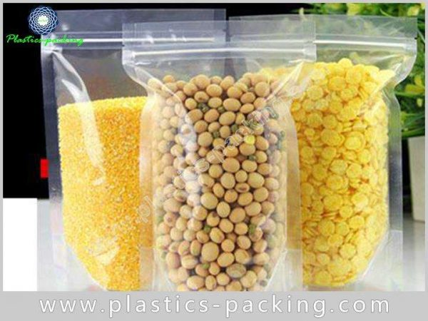 Silver Stand Up Bags Ziplock Pouches Manufacturers 193