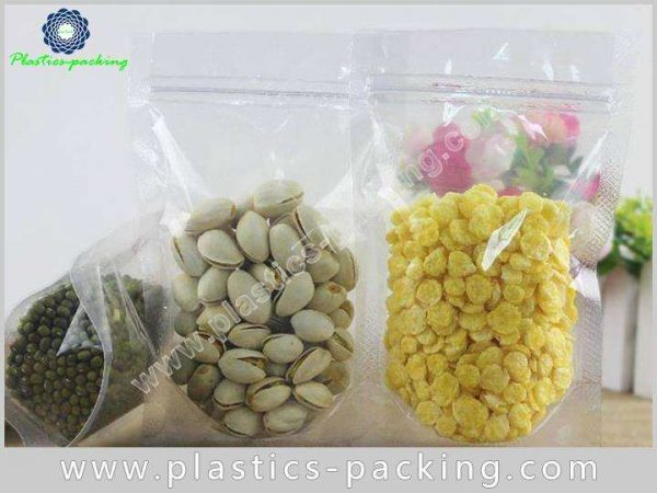Silver Stand Up Bags Ziplock Pouches Manufacturers 194