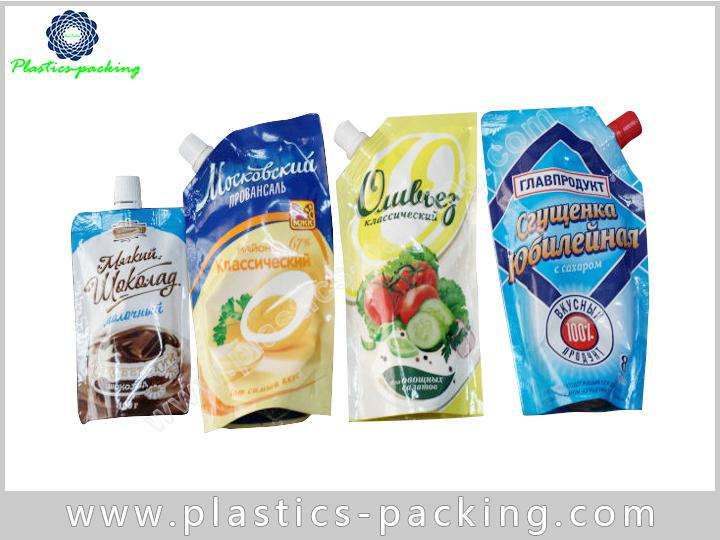 Soft Drink Spouted Stand Up Pouches 50ML Stand yyth 074