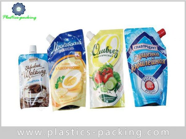 Soft Drink Spouted Stand Up Pouches 50ML Stand yyth 078