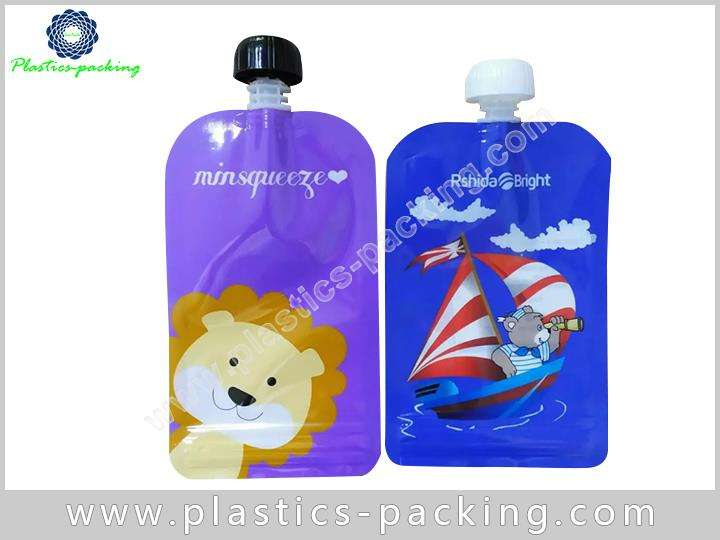 Spouted Pouches For Cosmetics And Beauty Manufacturers yyt 031