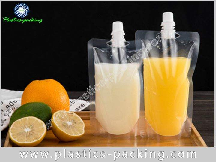 Spouted Pouches With Re closable Cap Manufacturers and yyt 025