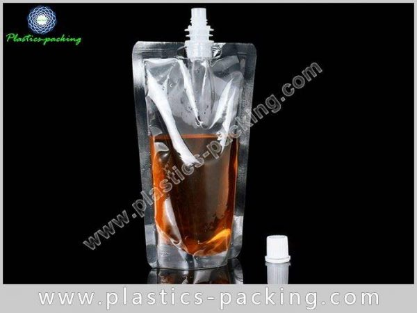 Spouted Pouches With Re closable Cap Manufacturers and yyt 028