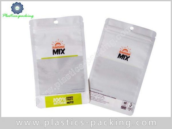 Square Window Stand Up Ziplock Bags Manufacturers a 125