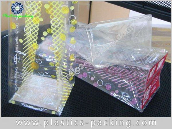 Stand Up Clear Cellophane Bags Card Base High yythk 037