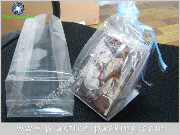 Stand Up Clear Cellophane Bags Card Base High yythk 039
