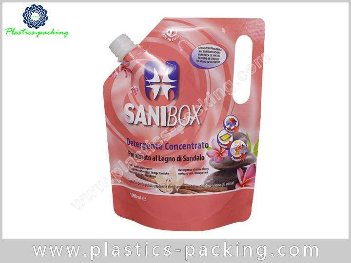 Stand Up Plastic Pouch With Spout Manufacturers and 046