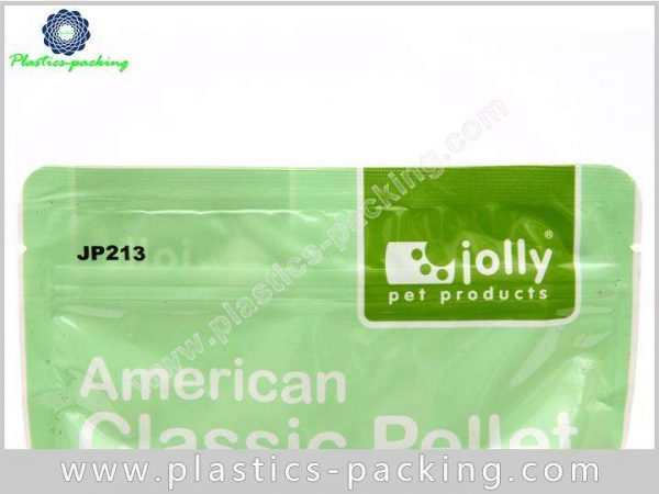 Stand Up Plastic With Zipper Pet Food Bags For Dog Cat Food Packaging 10