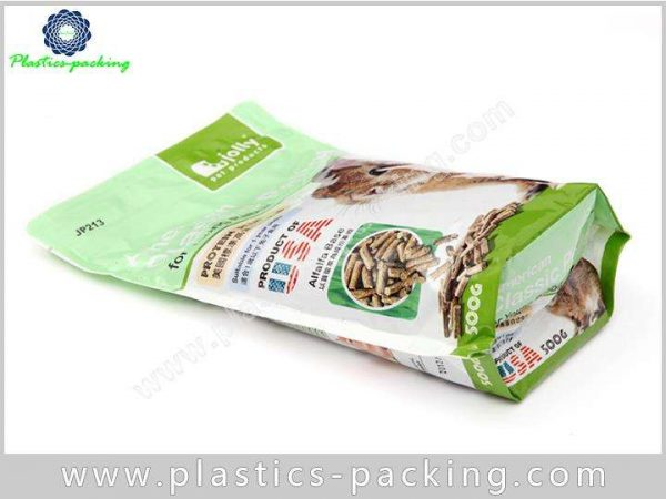 Stand Up Plastic With Zipper Pet Food Bags For Dog Cat Food Packaging 9