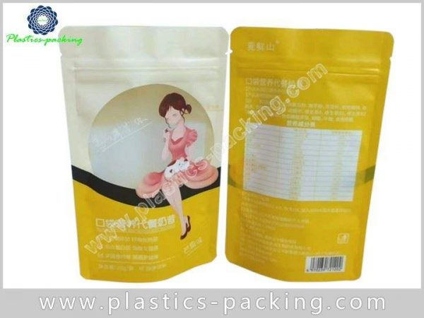 Stand Up Wholesale Zipper Pouch Bags Manufacturers 096