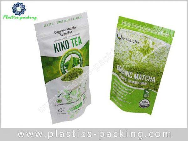 Stand Up Zipper Pouch Tea Packaging Manufacturers a 081