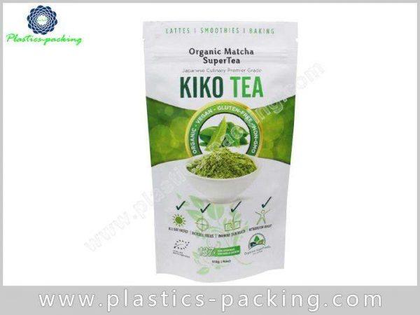 Stand Up Zipper Pouch Tea Packaging Manufacturers a 082