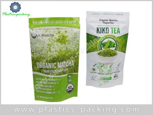 Stand Up Zipper Pouch Tea Packaging Manufacturers a 083