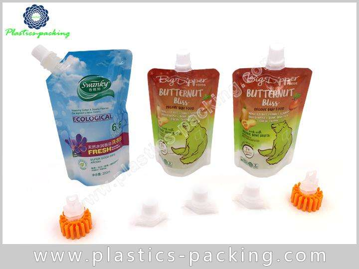 Stand up Liquid Juice Spout Bag Manufacturers and S 030