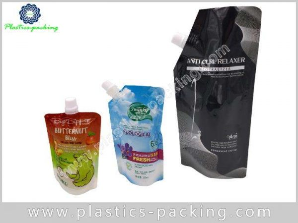 Stand up Liquid Juice Spout Bag Manufacturers and S 038