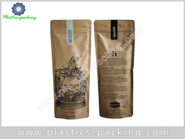 Tea Leaves Kraft Paper Bag with Window 150g 029