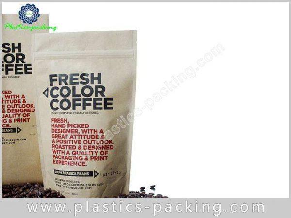 Tea Leaves Kraft Paper Bag with Window 150g 030